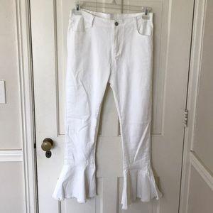 Luca + Grae white jeans